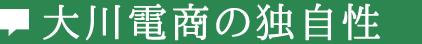 大川電商の独自性